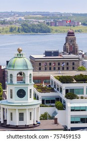 Halifax Town Clock, Nova Scotia. Halifax, Nova Scotia, Canada.