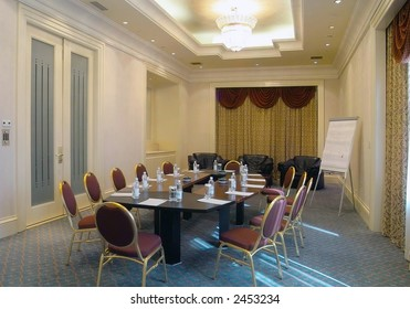 hall for the business meetings