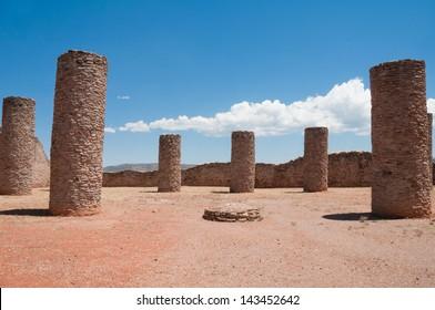 Hall of Columns, La Quemada, Zacatecas (Mexico)