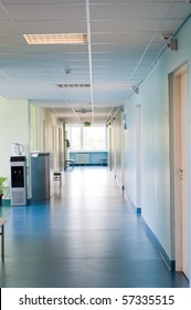 Hall in hospital
