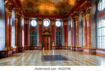 Hall in Melk Abbey