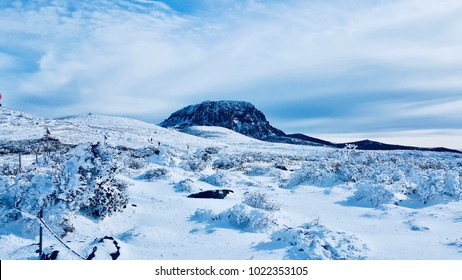 Hallasan in Jeju Island , Korea Mountain