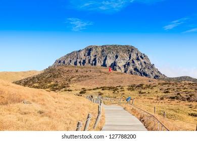 Hallasan mountain Jeju island