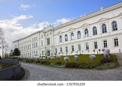 HALLE, GERMANY - 9 March, 2020: German National Academy of Sciences Leopoldin  in Halle
