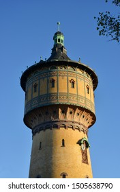 Halle, Saale, Germany historical water tower