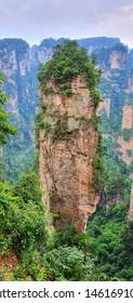 Hallelujah Mountain  in zhangjiajie National Park