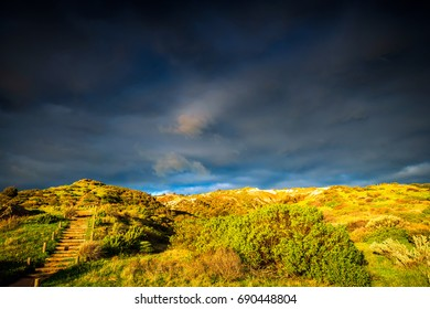 Hallett Cove landscape at sunset, South Australia