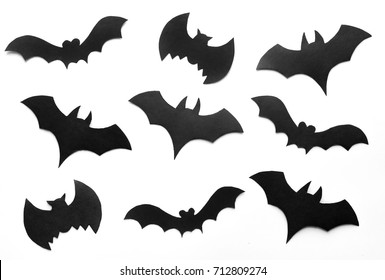 halloween background black bats on white backgroundhand made fall decor - Halloween Pictures Bats