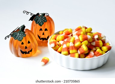Halloween candy corn orange delicious sweet for the holiday.