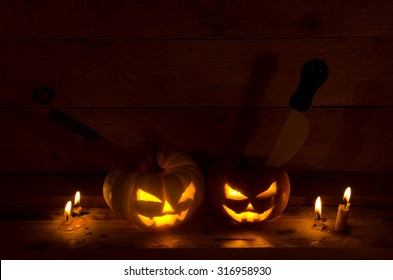 halloween with dark tone