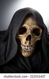 Halloween death  Skeleton head