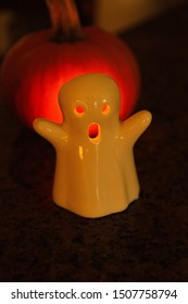 Halloween Decoration - Ghost Candle Holder