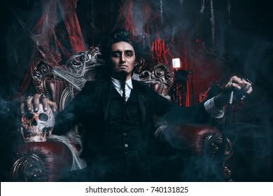 Male Vampire Images Stock Photos Vectors Shutterstock