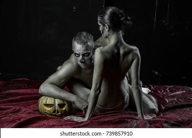 The collage girlas and man saxy nakit photos #5