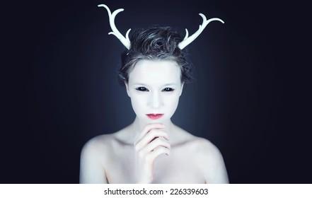 Halloween Makeup Alien