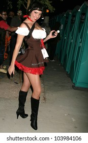Halloween Party-goer at the 2009 West Hollywood Halloween Carnival, Various Locations, West Hollywood, CA. 10-31-09