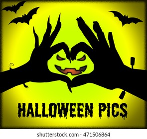 Halloween Pics Showing Spooky Pictures Or Images