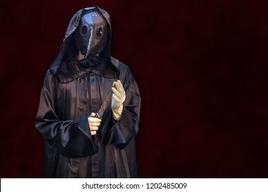 Halloween, plague doctor