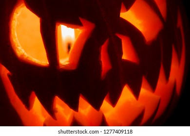 Halloween pumpkins known as Jack - O - Lantern originated to festivities of Samhain. Perfect halloween decoration!