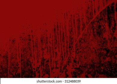 Halloween theme. blood and Grunge background