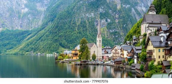 Hallstatt city of dreams  Salzburg Austria