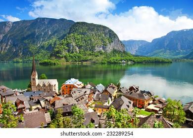 Hallstatt  - pretty austrian village on lake