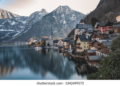 Hallstatt Reflection during Spring