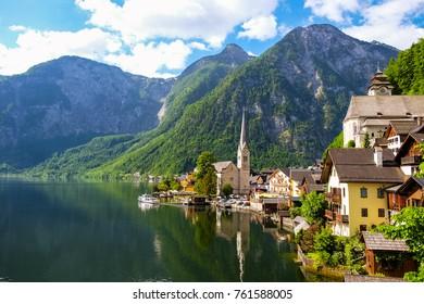 Hallstatt town, Austria