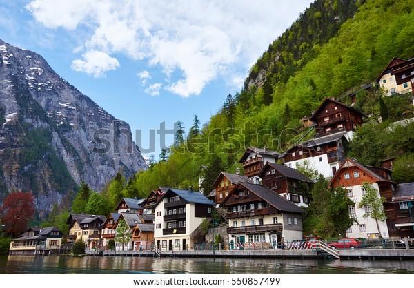 Hallstatt village in Salzburg/Austria