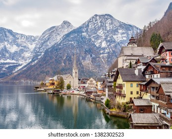 Hallstatt is a village in the Salzkammergut World Heritage Site. Located in the Upper State Austria and Halchat Lake in the southwest