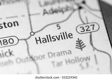 Hallsville. Ohio. USA