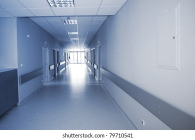hallway in the hospital