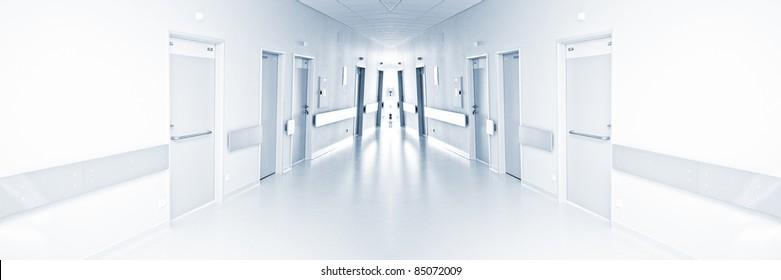 Krankenhausflur