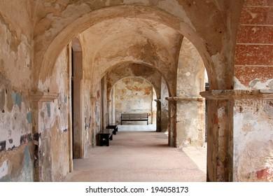 Hallway ruins - El Morro Puerto Rico