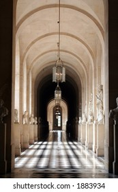 Hallway at Versailles, Paris, France