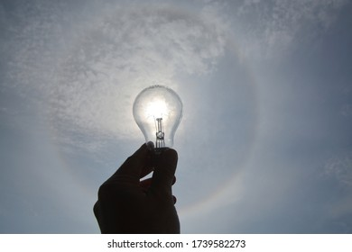 Halo effect with small bulb
