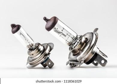 Halogen car bulb