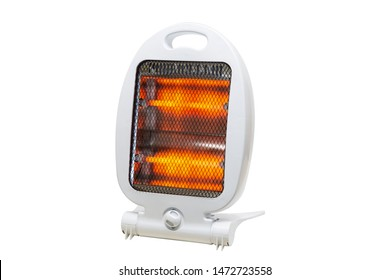 halogen light heater white backround