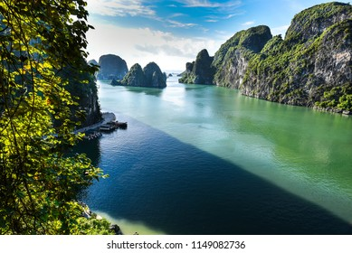 Halong Bay in July 18 , the natural place and paradise in vietnam