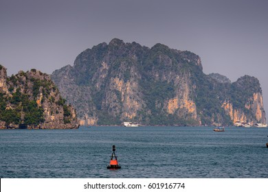 Halong bay, Vietnam. UNESCO World Heritage