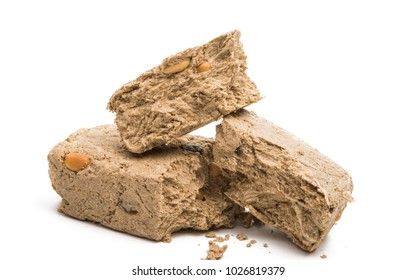 halva isolated on white background