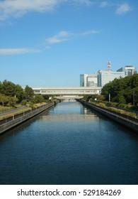 Hamadagawa (A small river in Chiba, Japan)