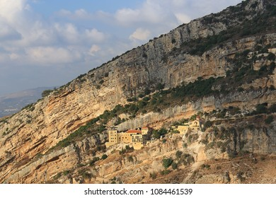 Hamatoura is a monastery which the monks built in rocky mountains to evade the persecution of the Ottomans against the Christians of Lebanon. This monastery is in Kousba el Koura.