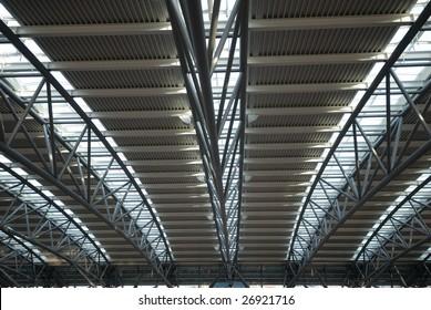 Hamburg Airport Roof