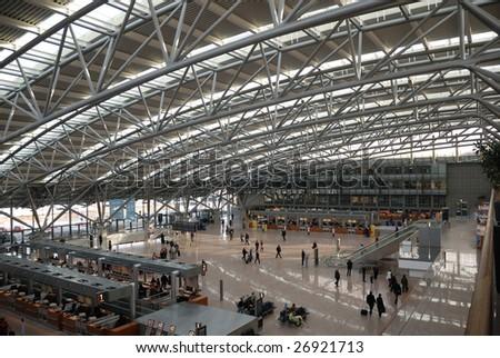 Hamburg Airport Roof Stock Photo Edit Now 26921713