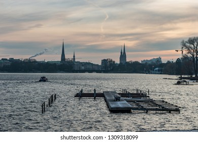 hamburg alster, what a view