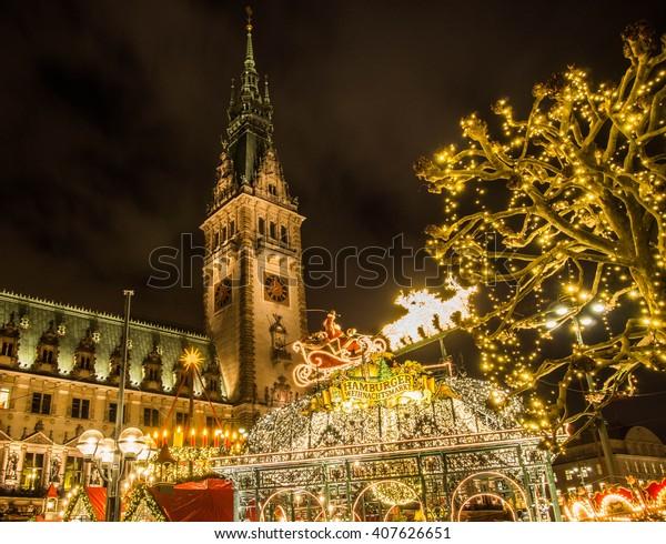 Hamburg Weihnachtsmarkt, Deutschland