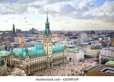 Hamburg city hall, Germany