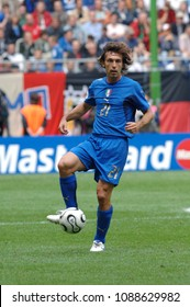 Hamburg Germany, 22 May 2006, FIFA World Cup Germany 2006, Czech Republic - Italy , match at the Volksparkstadion : Andrea Pirlo in action during the match