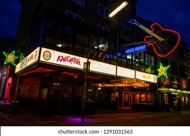 Hamburg, Germany - August 23rd 2011: The Kaiserkeller music club in the St. Pauli quarter of Hamburg, Germany, near the Reeperbahn.  The British pop group The Beatles played there in 1960.